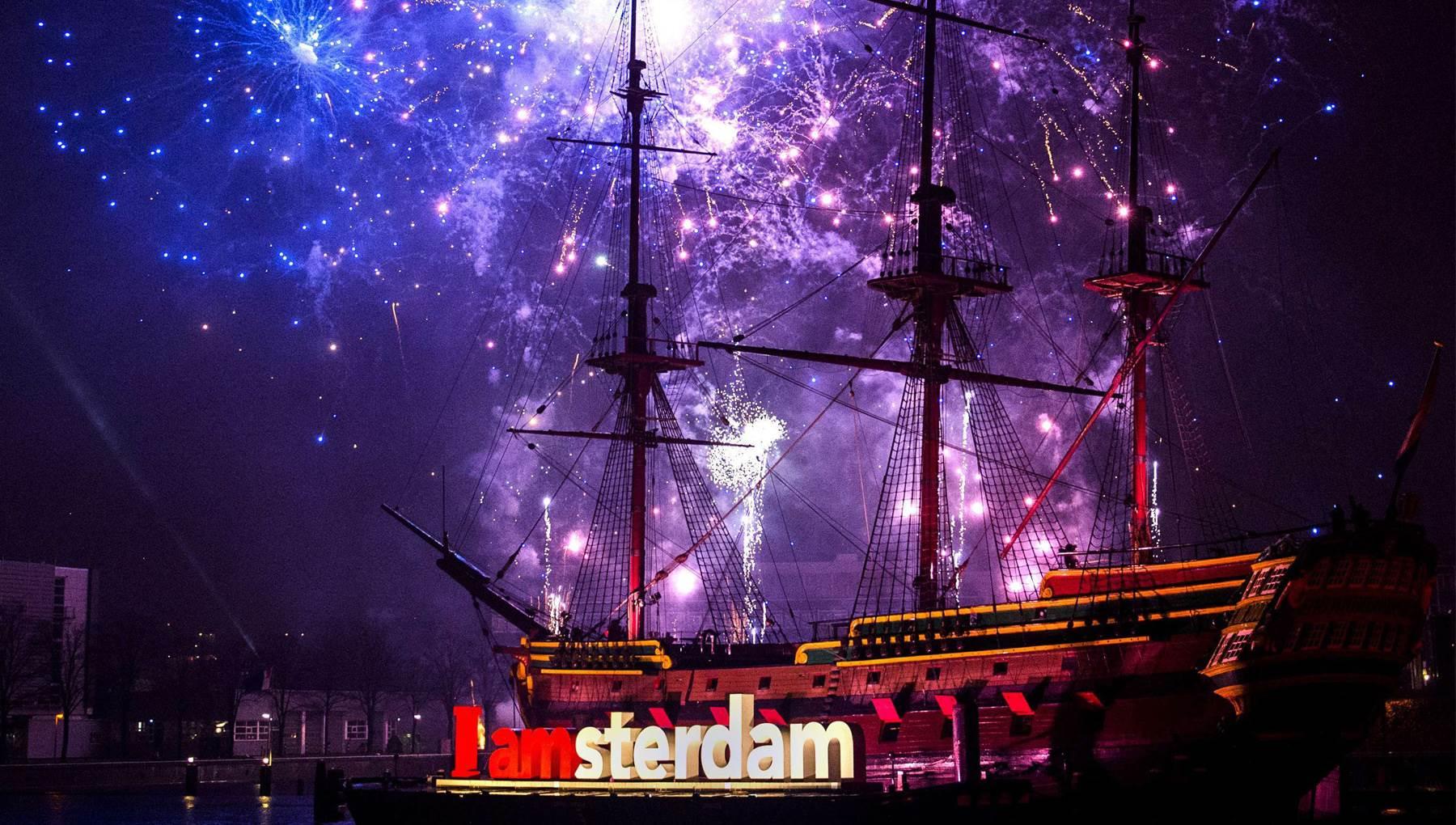 Capodanno a Amsterdam- Fuochi d'artificio